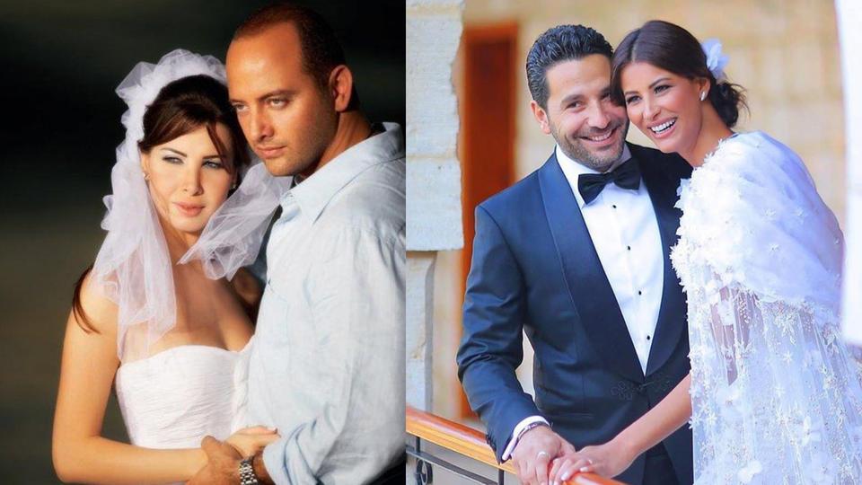 نانسي عجرم وريم السعيدي تحتفلان بعيد زواجهما