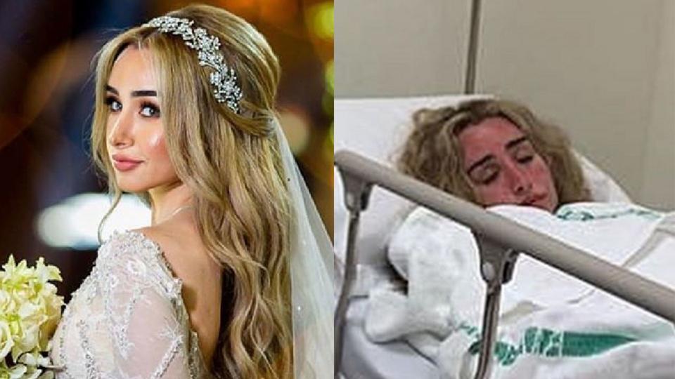 بعد أيام قليلة على زواجها.. هنا الزاهد في المستشفى