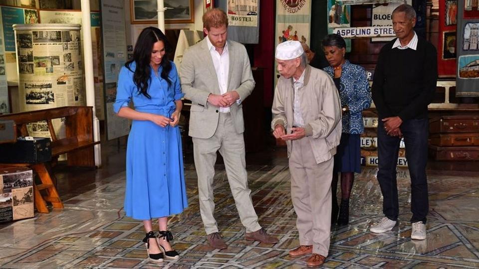كل الصور من جولة الأمير هاري وميغان ماركل في أفريقيا