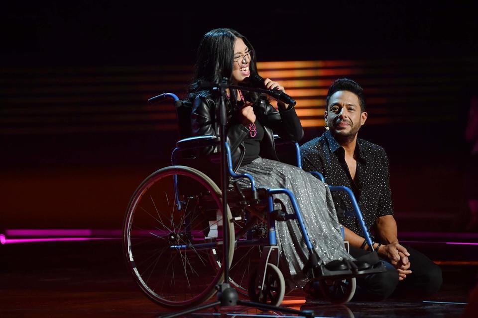 وئام رضوان في «ذا فويس»... المغنية المغربية التي تحدّت المرض
