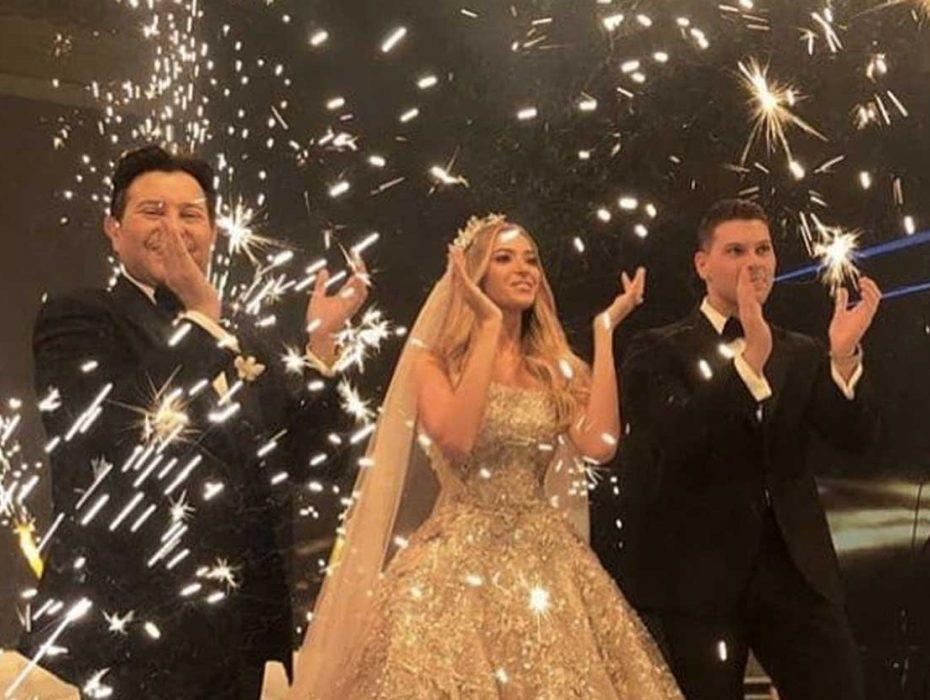 هاني شاكر يحتفل بزفاف ابنه ,وسط حضور نجوم مصر