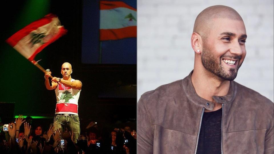 النجم العالمي اللبناني مساري ينضم للمتظاهرين في أمريكا