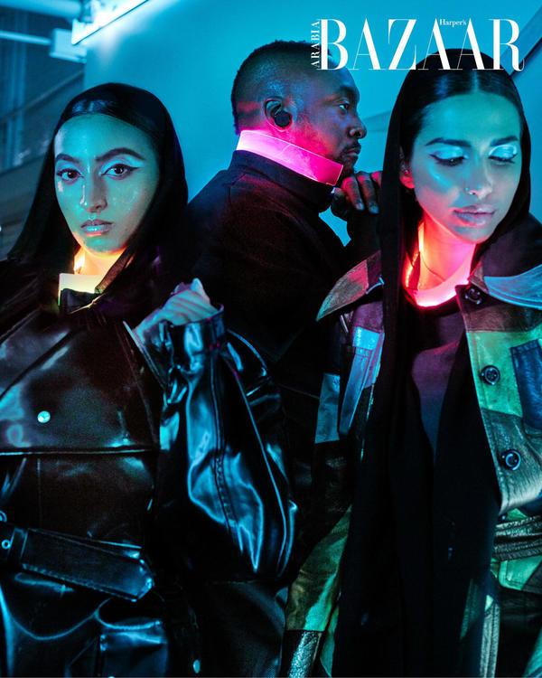 ألبوم صور: لقطات خيالية من عالم المستقبل مع نجوم غلاف بازار لشهر نوفمبر