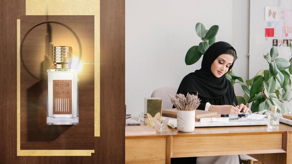 ياسمين الملا تخلد مدينتها الغالية دبي من خلال عطر حصري