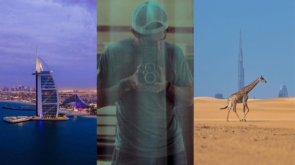ألبوم صور: بمناسبة عيد ميلاده، العالم من خلال عدسة الشيخ حمدان