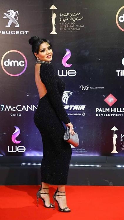 ألبوم صور: أجمل الإطلالات من ليلة افتتاح مهرجان القاهرة السينمائي