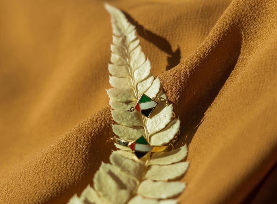تألقي في هذه المجوهرات التي صممت خصيصاً للاحتفال بالعيد الوطني الإماراتي