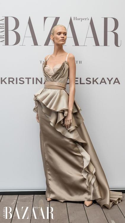 ألبوم صور: أجمل اللقطات من أمسية ساحرة مع المصممة كريستينا فيدلسكايا