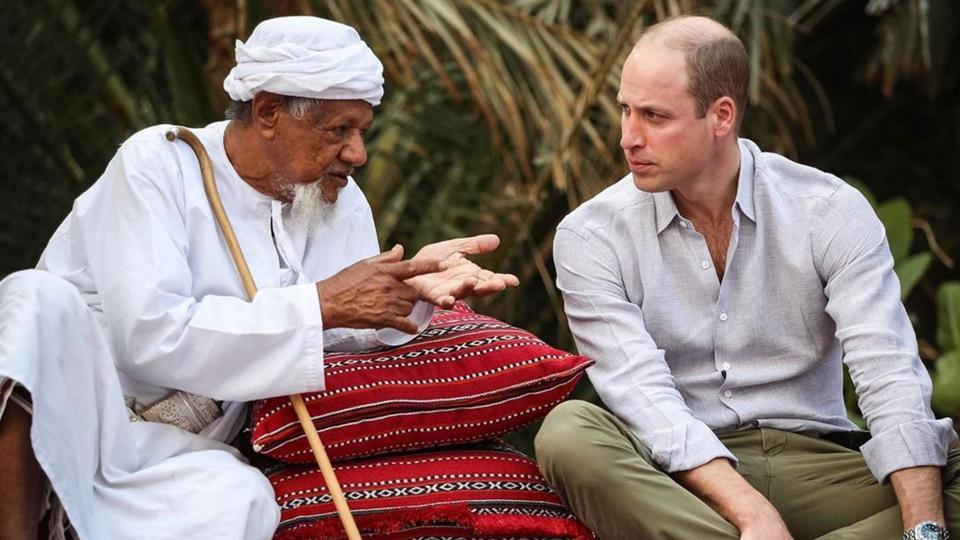الأمير ويليام يشكر الكويت وعُمان باللغة العربية على ضوء زيارته للبلدين