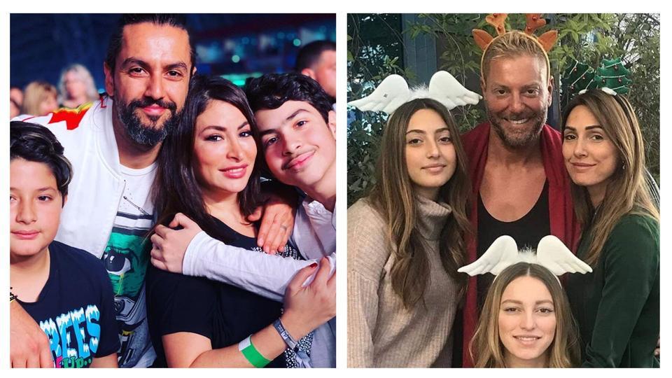 نجوم العالم العربي يستقبلون العام الجديد بصور وتمنيات عائلية