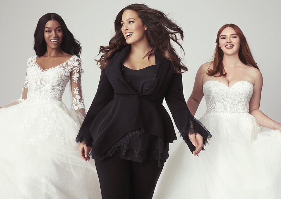 آشلي غراهام, Pronovias, فساتين الزفاف, فستان العروس, المقاسات الكبيرة, أشلي غراهام تطلق مجموعة فساتين زفاف