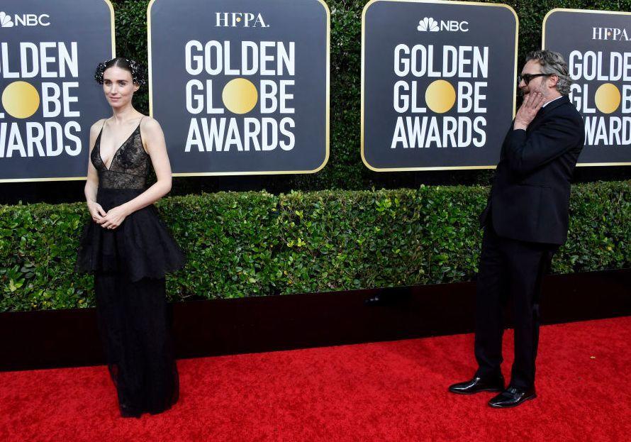 أجمل الثنائيات خلال حفل توزيع جوائز الغولدن غلوب لهذا العام