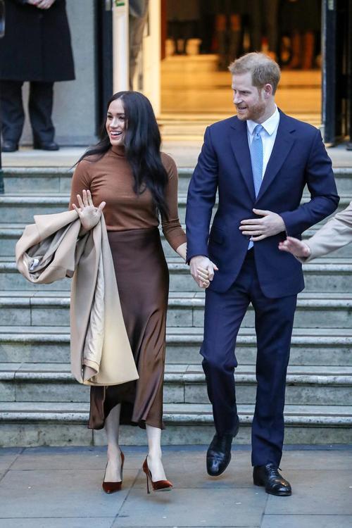 ألبوم صور: ميغان ماركل في أول ظهور في عام 2020 برفقة زوجها الأمير هاري