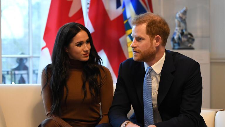 ميغان ماركل, الأمير ويليام, العائلة المالكة البريطانية, الأمير هاري وزوجته ميغان يتخليان عن مهامهما الملكية, الملكة اليزابيث