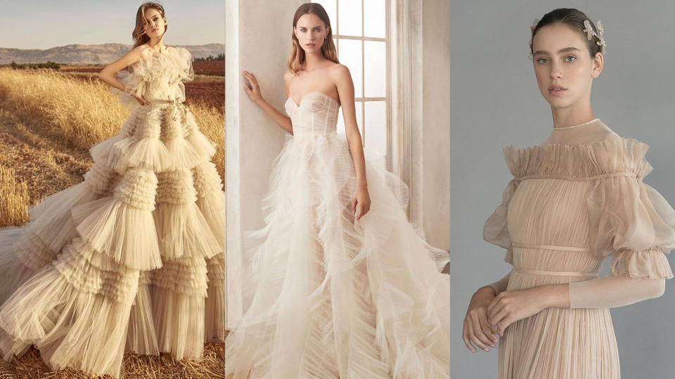 تعرفي على أحدث الصيحات لفساتين الأعراس في 2020