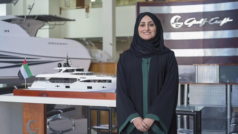 مقابلة مع الإماراتية الأولى كرئيسية تنفيذية بالإنابة لشركة جلف كرافت