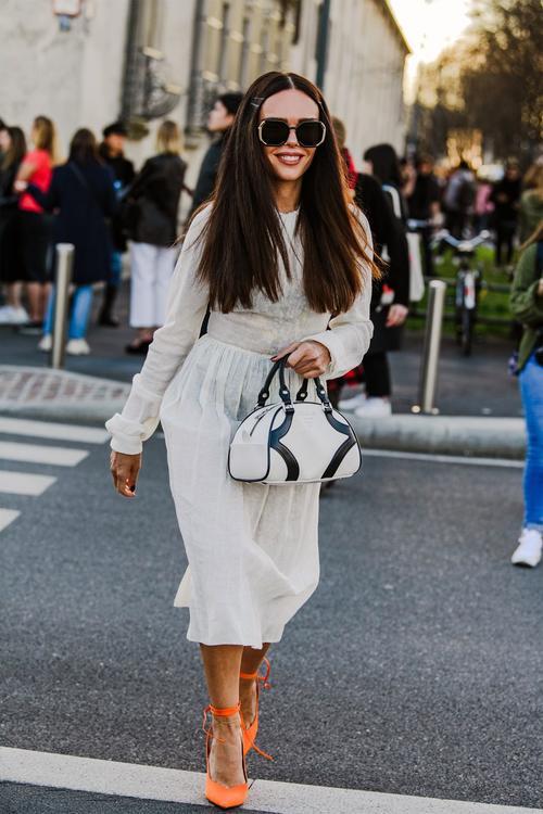 أجمل الاطلالات لأزياء الشارع في أسبوع الموضة في ميلانو لخريف 2020