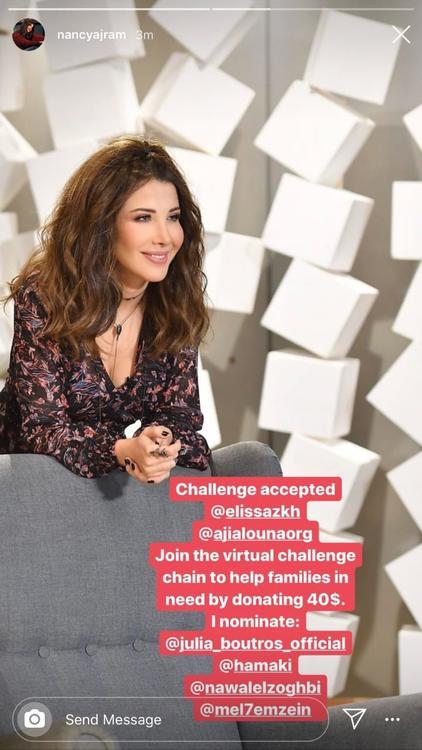 نجوم لبنان يتحدون بعضهم لمحاربة كورونا من خلال التبرع