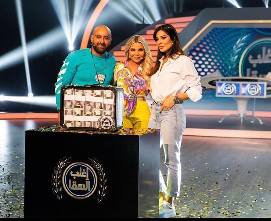 نادين نجيم و أحمد السقا الثنائي الذي لم يتوقعه أحد في فيديو تيك توك