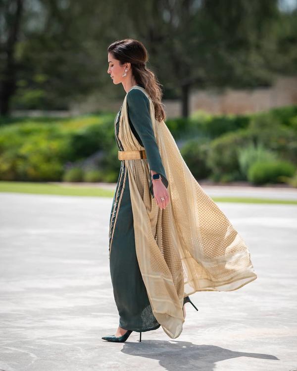 الملكة رانيا تسترجع ذكريات الأجواء الرمضانية فى فيديو قديم