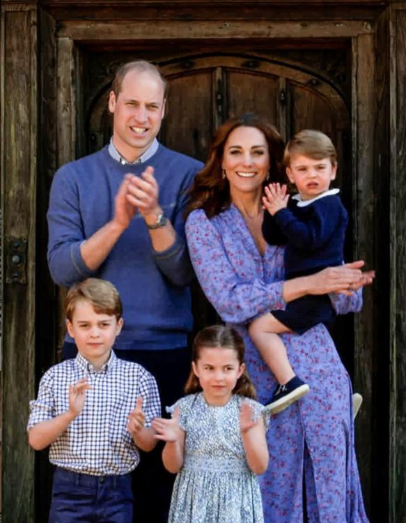 كيف يقضي الأمير جورج والأميرة تشارلوت وقتهما في الحجر المنزلي