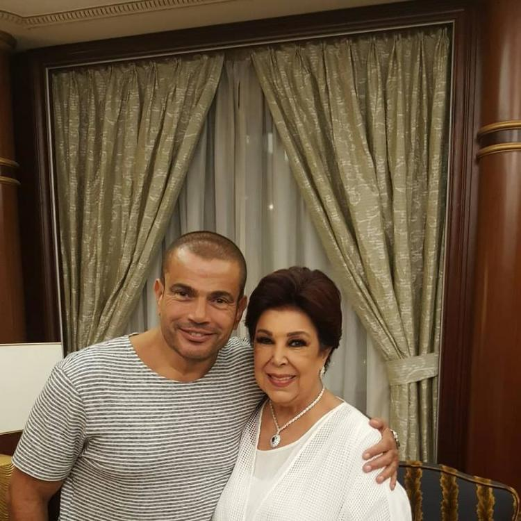 دينا الشربيني و عمرو دياب في خطر بسبب رجاء الجداوي
