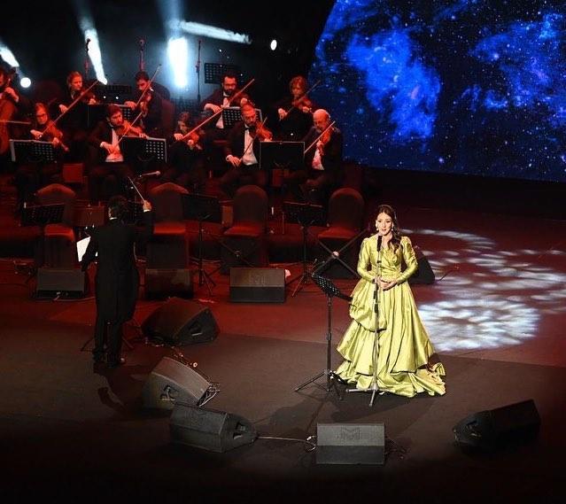 أول مغنية أوبرا سعودية سوسن البهيتي تشدو للجمهور البريطاني في أمسية فنية