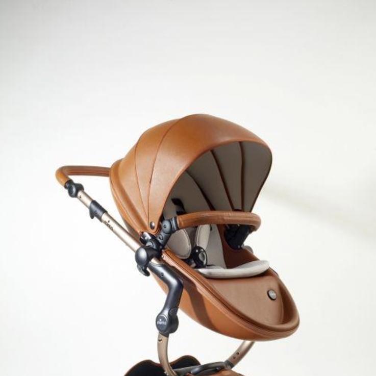 قائمة الأمنيات: عربة الأطفال الجلدية Mima Flair