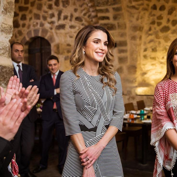 جلالة الملكة رانيا العبدالله تلتقي مجموعة من السيدات الناشطات على مواقع التواصل الاجتماعي
