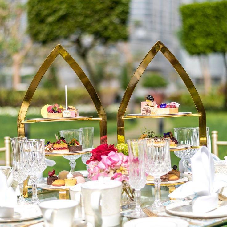 """لمسات """"بولغاري"""" الراقية تضفي المزيد من التألق على أمسيات الشاي في """"ذي بالاس وسط دبي"""""""