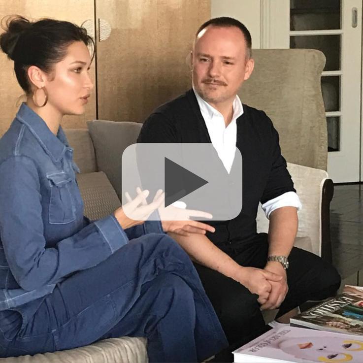 شاهدي مقابلة حصرية لهاربرز بازار العربية مع بيلا حديد