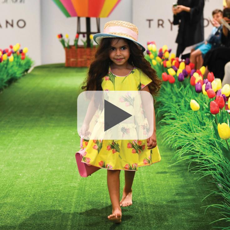 شاهدي: عرض الأزياء الخاص بملابس الأطفال من ترايانو