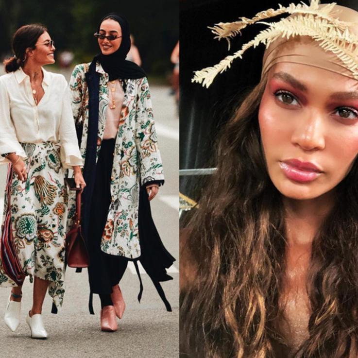 أجمل صور المشاهير عبر إنستغرام خلال شهر الموضة