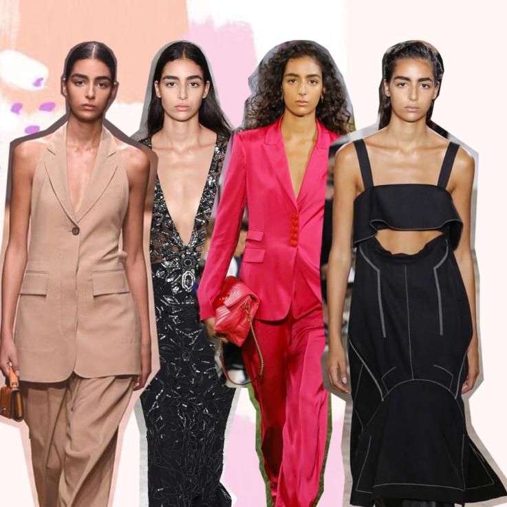 8 إطلالات مذهلة لنورا عتال من عروض أسابيع الموضة