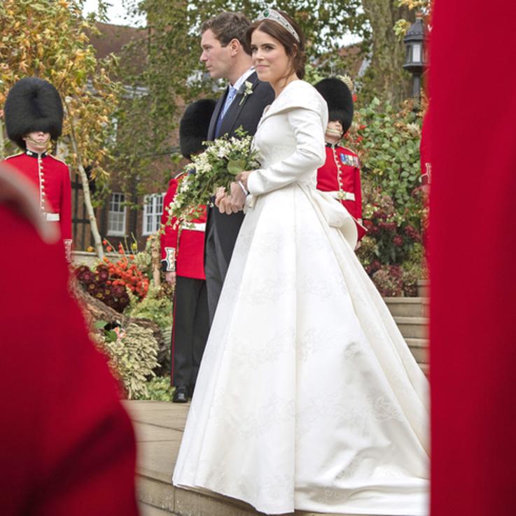 حفل زفاف الأميرة أوجيني بالصور