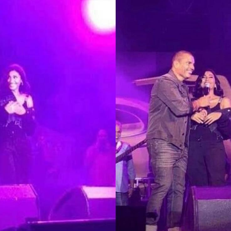 بعد تقبيلها على المسرح.. هل بات زواج عمرو دياب بدينا الشربيني مؤكداً؟