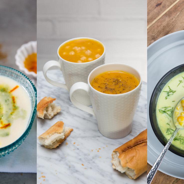 أفكار لأطباق حساء دافئة ومفيدة للموسم الشتوي