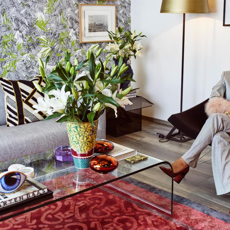 جولة داخل عالم المصممة اللبنانية نادين قانصوه