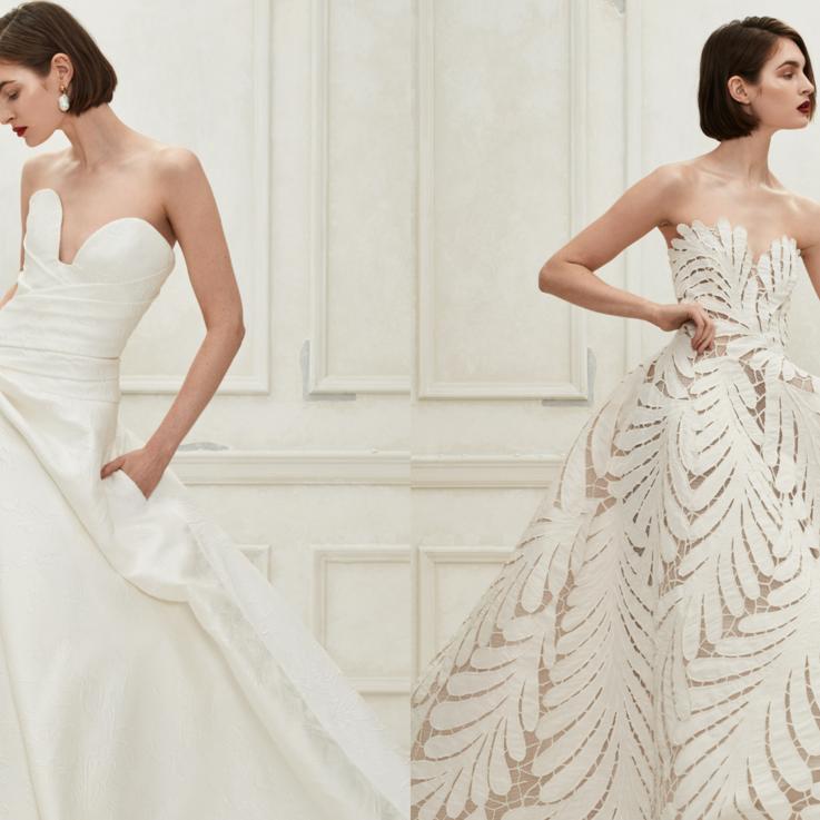 أوسكار دي لا رنتا تطلق مجموعتها الأولى من فساتين الزفاف