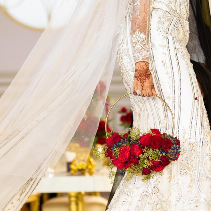 حصرياً: الصور الأولى لحفل زفاف الشيخة شما بنت حمدان آل مكتوم الأسطوري