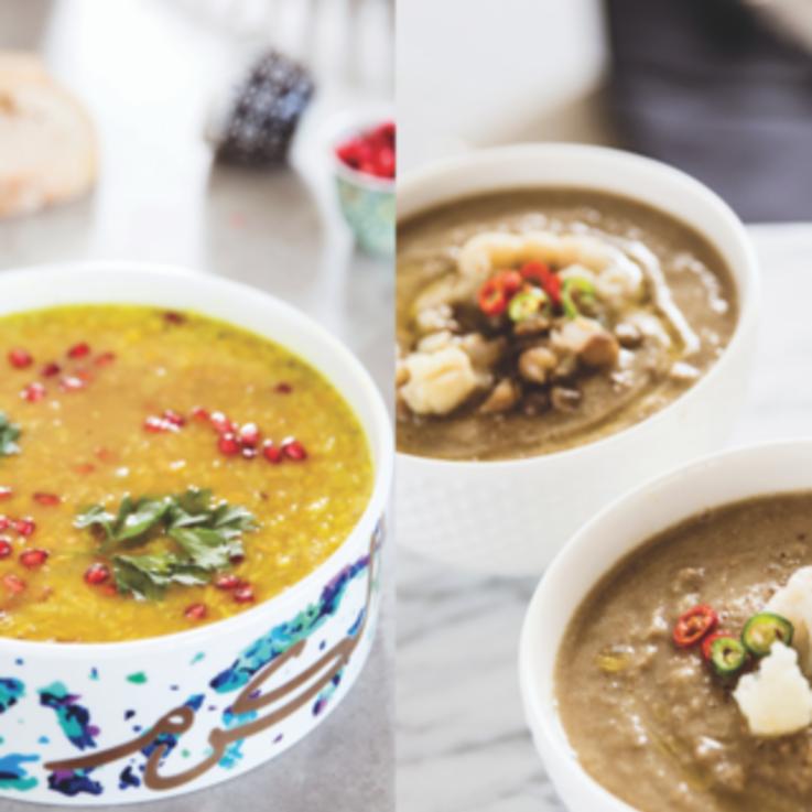 ثلاث وصفات طبخ صحية لشوربة العدس في رمضان