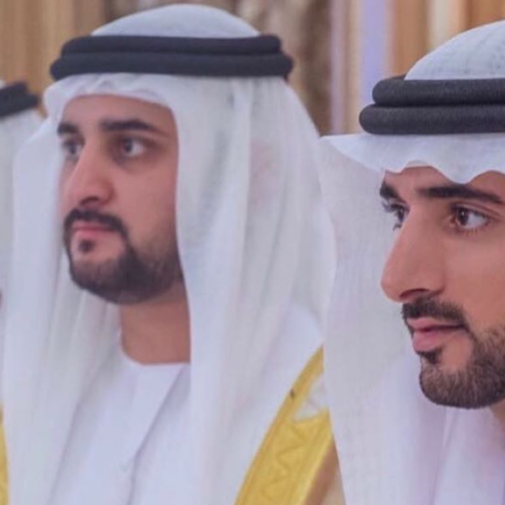 عقد قران الشيخ حمدان ولي عهد دبي