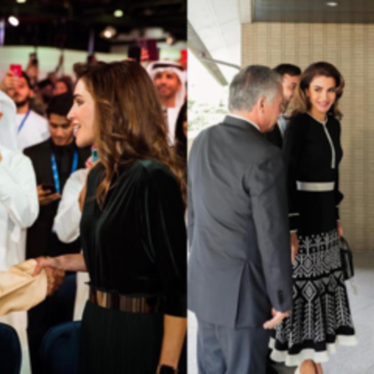 صور لأفراد من العائلات المالكة العربية مع أمراء وملوك ودبلوماسيين من العالم