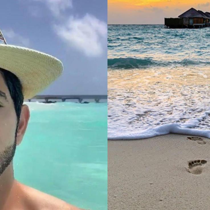 الشيخ حمدان ينشر صوراً رائعة من الإجازة التي يقضيها