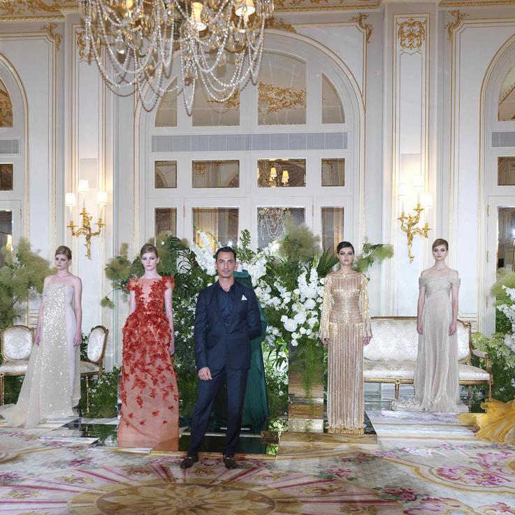 تشكيلة رامي العلي من الأزياء الراقية لموسم خريف وشتاء 2019