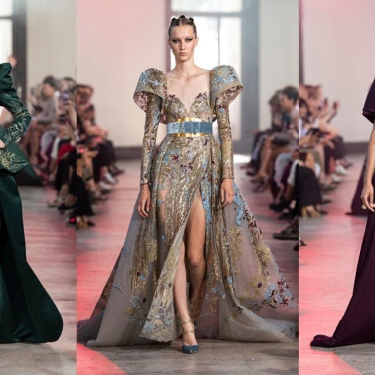 مجموعة إيلي صعب من الأزياء الراقية موسم خريف وشتاء  2019