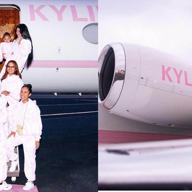 من داخل رحلة كايلي جينر الفاخرة في طيارتها خاصة