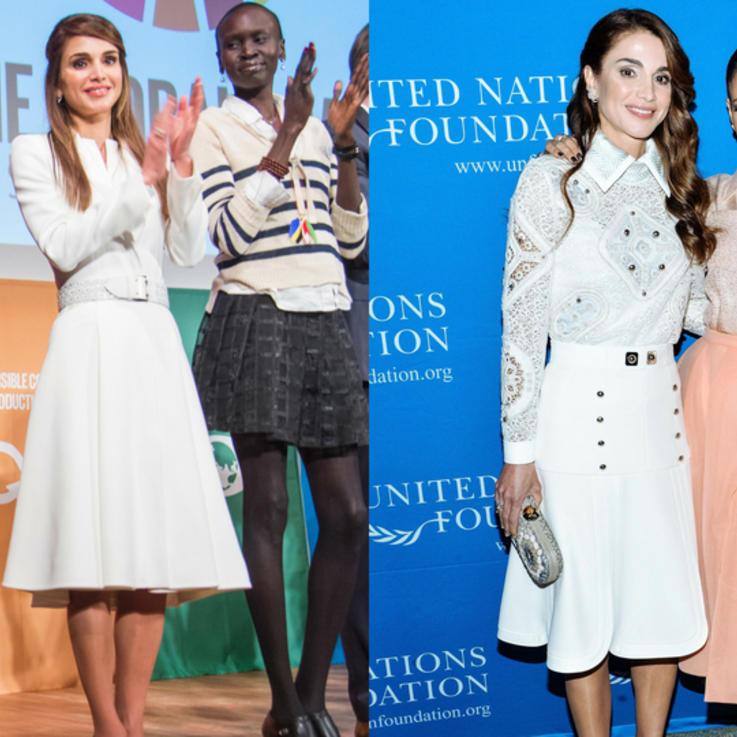 أفضل اللحظات والمحطات المهمة في حياة الملكة رانيا