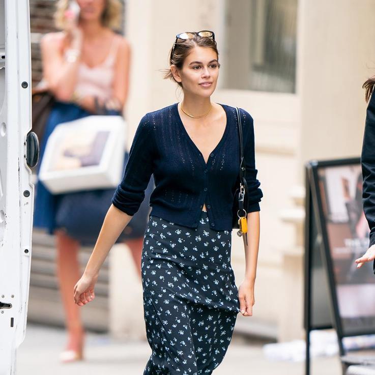 إطلالات المشاهير: كايا جربر تقدم لنا الإطلالة المثالية لأسبوع الموضة
