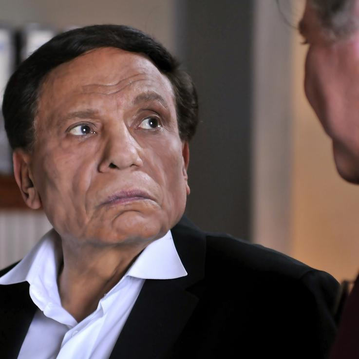عادل إمام يظهر أخيراً بعد أنباء عن تدهور حالته الصحية